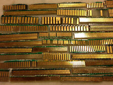 1Lot 90 grams Scrap Mixed Computer Industrial Gold Fingers Double Side Recovery