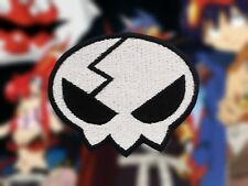 Tengen Toppa Gurren Lagann Yoko Head Skull Embroidered Iron-on Patch/Badge