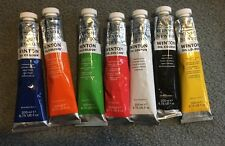 Lot Of Winsor & Newton Oil Colour Paints 200ml Tubes