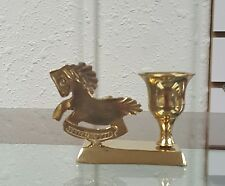 Brass Horse Candle Holder/Animal