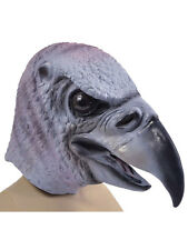 Vulture Rubber Mask Adult Predator Bird Animals & Nature Fancy Dress Halloween