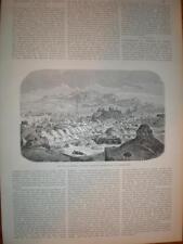 Article Earthquake at kushan Persia Iran 1893