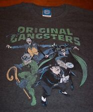 BATMAN VILLAINS ORIGINAL GANGSTERS JOKER RIDDLER PENGUIN Dc Comics T-Shirt LARGE