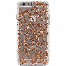 Case Mate Karat 2-Layers Hard Shell Case Cover for iPhone 6 iPhone 6s Rose Gold