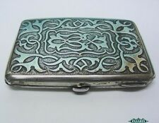 Victorian Sterling Silver Aide Memoire / Card Case Sampson Mordan London 1894