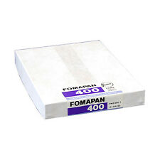 "50 sheets of Fomapan 400. 4""x5"" Large Format Black & White Camera Film 4x5 5x4"