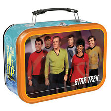 "Star Trek Large Tin Storage Tote/Lunch Box (9"" x 3.5"" x 7.5"")"