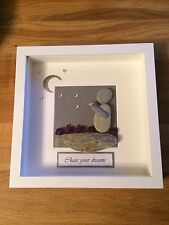 Pebble art picture Chase Your Dreams