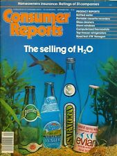 1980 Consumer Reports Magazine: Bottled Water/Perrier/Glass Cleaner/VW Vanagon