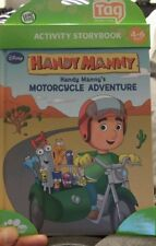 BRAND NEW Leaf frog Handy Manny Motorcycle adventure Leapfrog tag 4-6