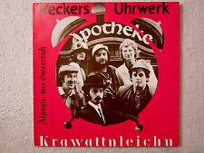 LP / Weckers Uhrwerk – Krawattnleichn / Krautrock, Art Rock / 1977 / AUSTRIA /