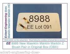 EE 8988 New (NOS) Maerklin Märklin Marklin Z 3-Pole Brush Pair in Original Box