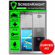ScreenKnight BlackBerry Priv FULLBODY SCREEN PROTECTOR invisible Military shield