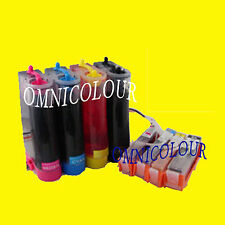 4c CISS no chip FOR HP 364 INK CARTRIDGEB209 B110 B210 HP364 C3070 compatible