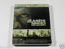 Rise of the Planet of the Apes Blu-ray Steelbook [France] MINT OOS/OOP SEALED