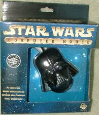 Star Wars Darth Vader Figural PC Mouse Mint In Box