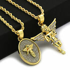 14k Gold Plated High Fashion 2 pcs set of Angel With 2mm 30