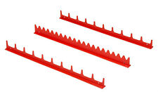 ERNST 6010M Red 20 Tool Screwdriver Rail Organizer Set with Magnetic Tape