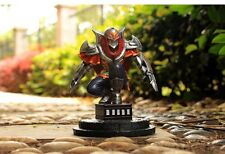 "5"" LOL League of Legends Ninja Zed  Figure PVC Car Decoration Figurines Statue"