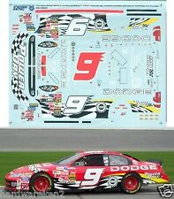 NASCAR DECAL # 9 DODGE POWER DAYS 2003 DODGE BILL ELLIOTT SLIXX