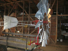 Aermotor Windmill Rebuilt 8ft A-702, complete from pump rod & mast pipe up
