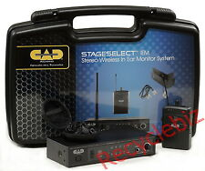 CAD Audio StageSelect IEM Wireless In Ear Monitor System Formerly Stagepass