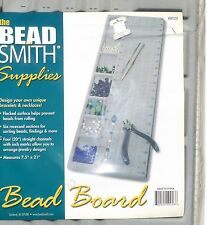 "BeadSmith Bead Board - Large Flock Bead Board  w/ measurements 7.5"" X 21"" NEW"