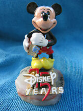 RON LEE MICKEY MOUSE FIGURINE *75 YEARS** LIMITED EDITION**ONYX/24K GOLD