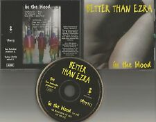 BETTER THAN EZRA In the Blood 1995 USA PROMO DJ CD Single w/ YOUNG BAND PHOTO