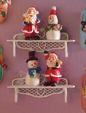 Figuras De Navidad festiva Paquete de 4, casa de muñecas miniaturas, Figuras De Navidad Filtro de aire CA615PL