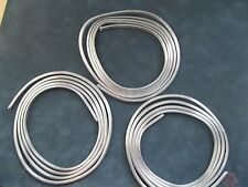 """Lead H Came Round side 3/16th""""  x 5/32nds"""" 3 six foot coils. Stained Glass. 18'"""