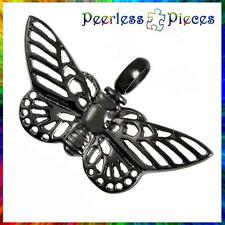 Cremation Urn Necklace Memorial Peerless Pieces Stainless Steel Butterfly #45