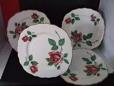 "VINTAGE Royal Vale Bone China 6"" Side Plate - Pink Rose Pattern"
