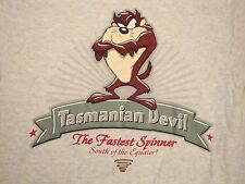 Taz Tasmanian Devil WB Warner Bros Looney Tunes T Shirt S