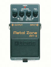 Boss MT-2 MT2 Metal Zone Effects Pedal Distortion Stompbox with 3-band EQ New