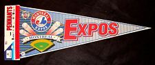 1995 MONTREAL EXPOS FULL-SIZE WINCRAFT VINTAGE SOUVENIR MLB PENNANT