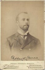 CABINET CARD PORTRAIT OF FAMED ROYAL NAVY SURGEON ROBLEY BROWNE