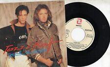 UMBERTO TOZZI  RAF disco 45 promo STAMPA SPAGNOLA Eurovision 1987 GENTE DI MARE