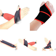 Gym Elastic Wristband Sports Wrist Joint Brace Support Wrap Band Guard Protector