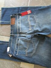 NEW I-JEANS BY BUFFALO ETHAN SUPER SLIM JEANS MENS 32X32 BLUE BLASTED FREE SHIP