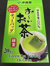 ITOEN Oi Ocha Green Tea Bag 20 Pieces Matcha Blended Instant MADE IN JAPAN