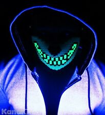 Glow in the Dark Wolf Kandi Mask From KandiGear, Rave Costume & Gear For Concert