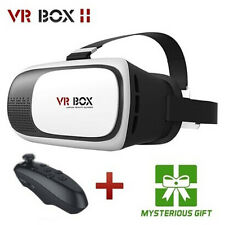 2016 Virtual Reality VR Headset VR BOX 2.0 Goggles 3D Glasses for Phone +Remote