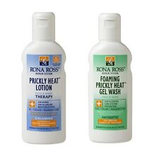 Rona Ross Prickly Heat Relief/Treatment Pack (Lotion & Wash) | FREE Express P&P