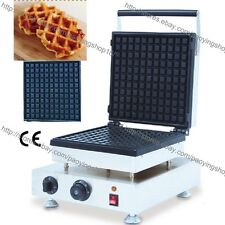Commercial Nonstick Electric Belgian Liege Waffle Maker Iron Baker Machine Mold