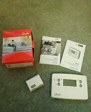 Danfoss TP9000 programmable room thermostat with hot water timer