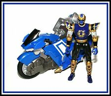 Power Rangers Ninja Storm: Navy Thunder Glider Cycle with Blake Bradley