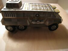 Horikawa Half Truck - Tin Lithograph Military Vehicle 1960's - Minty