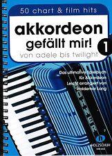 Akkordeon Noten : AKKORDEON GEFÄLLT MIR 1 mit CD -   Spiralbindung