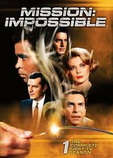 Mission Impossible Complete First TV Season 1 One DVD Set Series Show Episode R1